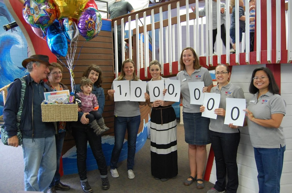One Millionth Visitor Celebration