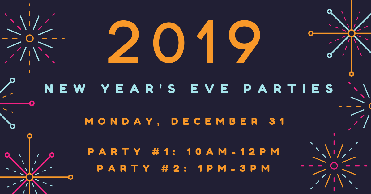 ring in the new year at wow before bedtime join us for noisemaker crafts face painting balloon animals the bunny and birdie comedy magic show